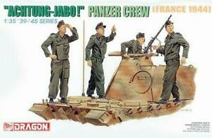 Dragon 6191 'Achtung-Jabo!' Panzer Crew 1944 1/35 Scale Plastic Model Figures