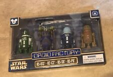 Star Wars Droid Factory Celebration set of 4 NEW Disney Park Excl Clone Wars NEW