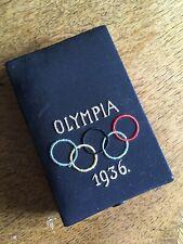 Etui XI.Olympiade BERLIN 1936 - Für Medaille ? Gedenkmünze ?