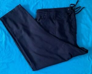 Ladies M & S Collection Trousers. Brand New. Navy Blue. FREE P+P. Size 24 x 29