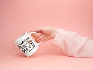 I Love My Daschund 11 oz Mug Ceramic Novelty Dashund Lover Gift