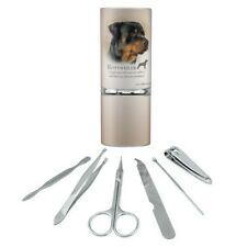 Rottweiler Rottie Dog Breed Manicure Pedicure Grooming Beauty Care Travel Kit