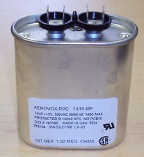 TWO UNITS - HIGH PRESSURE SODIUM 150 WATT CAPACITORS - HPS 150W - ANSI S55 - NEW