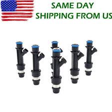 25313185 6Pcs Fuel Injectors For 02-04 Buick Chevy Oldsmobile GMC Isuzu 4.2L L6