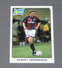 166 KENNET ANDERSSON SVERIGE BOLOGNA CALCIO PANINI SUPER FOOTBALL 99 1998-1999