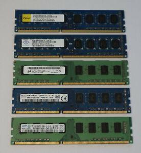 4GB 8GB 16GB DDR3 PC3 2Rx8 12800 1600 MHz Arbeitsspeicher Ram Desktop PC U-Dimm