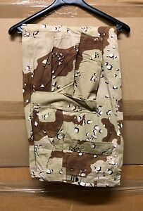 GENUINE US ARMY 1ST GULF WAR PANTS 6/ COLORS DESERT COTTON NEW !!! LARGE SHORT