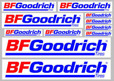 BF Goodrich tyres decal set 11 quality printed and laminated stickers