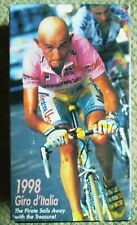 1998 Giro d'Italia World Cycling Productions 2 VHS Video Marco Pantani Clean