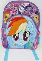 My Little Pony Backpack Rainbow Dash Girls Kids School Pink