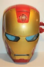 Marvel Comics Iron Man Avengers Hero Face Mask With Many Different Audio's