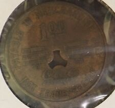 1901-1925 Osborne Gin Co.-Lee Rogers Mercantile Co. Store $1 Token Walker Co. AL