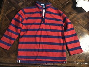 Mini Boden Pullover Red/navy 7-8y