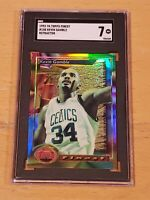 1993-94 Topps Finest Refractor #150 Kevin Gamble SGC 7 Newly Graded