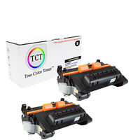 TCT 2 Black CE390X 90X High Yield Toner Cartridges For HP LJ Enterprise 600 4555