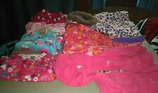 Lot of 18 and 12-18 Month Baby Girl Coats and Pajamas
