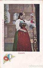 * SWITZERLAND - Luzern - Costume, Woman - Ed.H.Guggenheim