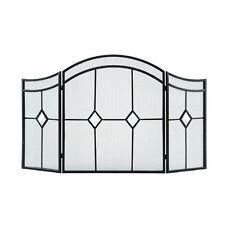 Contemporary Fireplace Screens & Doors | eBay