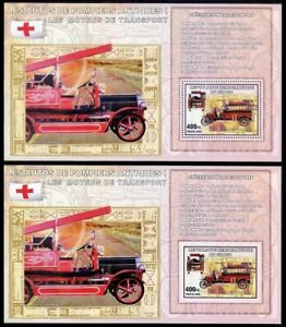LORNE FORD, Fire Brigade, Red Cross, Transport, Congo 2006 MNH Perf+Imperf