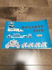 Matchbox Toys Book  from 1983. Schiffer Publishing - Diecast Matchbox Car Guide