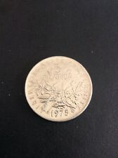 France 5 Francs Lightly Circulated Coin 1975