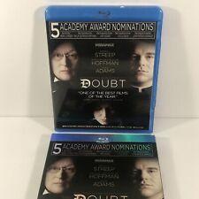 DOUBT (BLU-RAY MOVIE) Meryl Streep, Amy Adams, Philip Seymour Hoffman