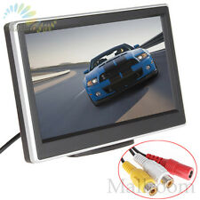 "2 Wege video eingang 5""TFT LCD Display Digital Panel Rückfahrmonitor Rück Kamera"