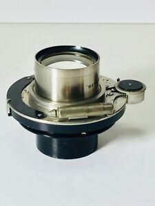 Antique 8x10 Bausch & Lomb Planatograph Rapid Rectilinear Lens W/Premo Shutter