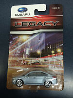 Official Genuine Subaru 2015+ Legacy 1/64 Die Cast Toy Car 202824 Silver New OEM