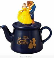 DISNEY BEAUTY AND THE BEAST TEAPOT FEATURING BELLE AND THE  BEAST BOXED