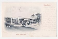 London,U.K.Hyde Park Corner,Horse Drawn Wagons,Trolley Cars,Used,London,1902