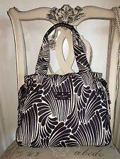 Kate Spade New York brown beige Shoulder Shopper Handbag