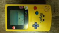 Nintendo Game Boy Color Pok�mon Edition Handheld System w/ pokemon original gold