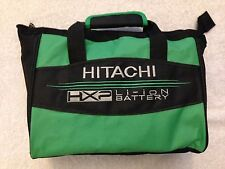 "New Hitachi HXP 12""x10""x6"" Heavy Duty Contractors Tool Bag W/ 3 Outside Pockets"