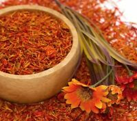 100 Gram Premium Dried Safflower Petals - Carthamus tinctoris -  Free Postage