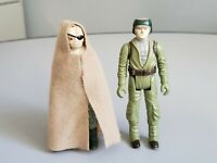 Vintage Star Wars ROTJ 1983 Prune Face with Cape and Endor Rebel Soldier Kenner