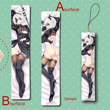 NieR:Automata YoRHa 2B Anime Mini Dakimakura Keychain Hanging Pillow Phone Strap