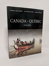 Canada-Quebec 1534-2000 / Nouvelle-France Colony Canada book Provencher Vaugeois