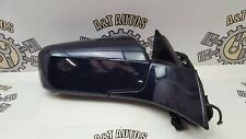 CADILLAC CTS SALOON '05 RIGHT DRIVER SIDE WING MIRROR IN BLUE