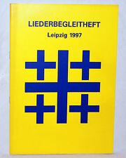 LIEDERBEGLEITHEFT Leipzig 1997 - Posaune / Flügelhorn