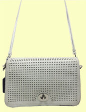 COACH 23404 Legacy Perforated Penelope Penny Leather Shoulder CrossBody Msrp$298
