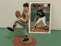 1989 Starting lineup Mike Scott figure Toy W/ 1989 Topps Card Houston Astros MLB
