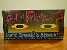 NEW/Never Opened!!- Alien Friendly? Board Game Iris & Kitty 1993