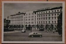 Russian Post Card old Taxi Car GAZ Volga Pobeda Rare Hostel Leningrad Photo Real