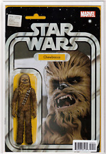 STAR WARS #4 Chewbacca Christopher Action Figure Variant Cover NM+ Near Mint+