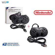 For Nintendo Wired Classic Mini Super Game Controller SNES NES Wii U Remote