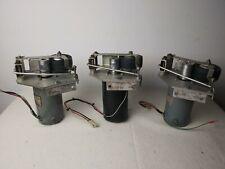 Lot of 3 35mm Movie Projector Film Platter Transport system drive motors