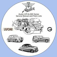 Austin A70 & A90 Series  Service Manual and Parts Lists