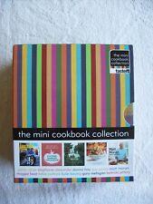 Boxed Set 10 Mini Cookbooks (Like New) Hay Oliver Jeffery Moran & More ~ Combine