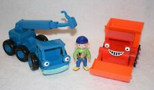 Bob The Builder Wendy Muck Bulldozer Lofty Crane Vehicle Cars Toys Bundle A10